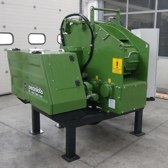 Pezzolato PTH 500/660 E elektromotoros dobos aprítógép
