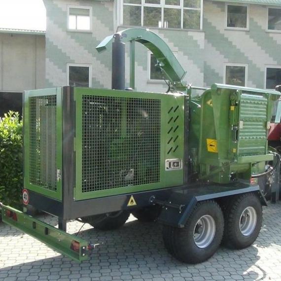 Pezzolato PTH 500 önálló dobos aprítógép