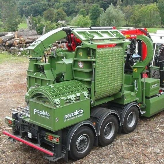 Pezzolato PTH 1400/1000 tehergépkocsis dobos aprítógép